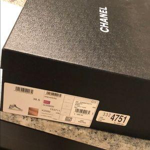 Chanel sneakers LT pink/LT beige